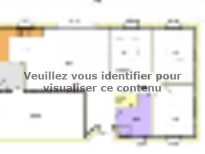 Plan de maison Avant-Projet FONTENAY LE COMTE - 80 m² - 3chambres 3 chambres  : Photo 3