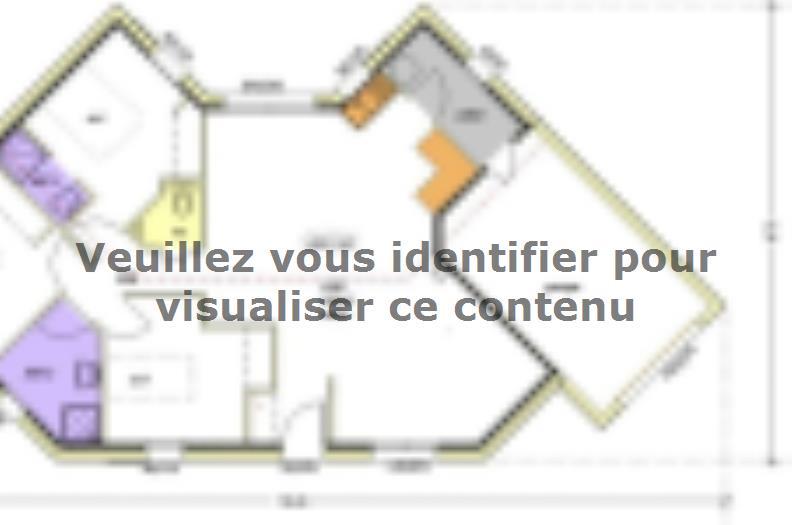 Plan de maison Avant-projet MALLEZAIS - 90 m² - 3 chambres : Vignette 2