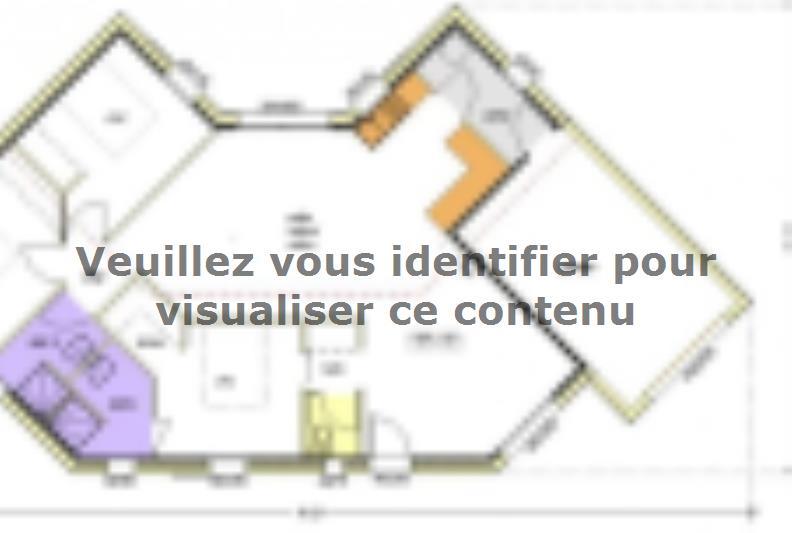 Plan de maison Avant-projet LA MOTHE ACHARD - 83 m² - 3 chambres : Vignette 3