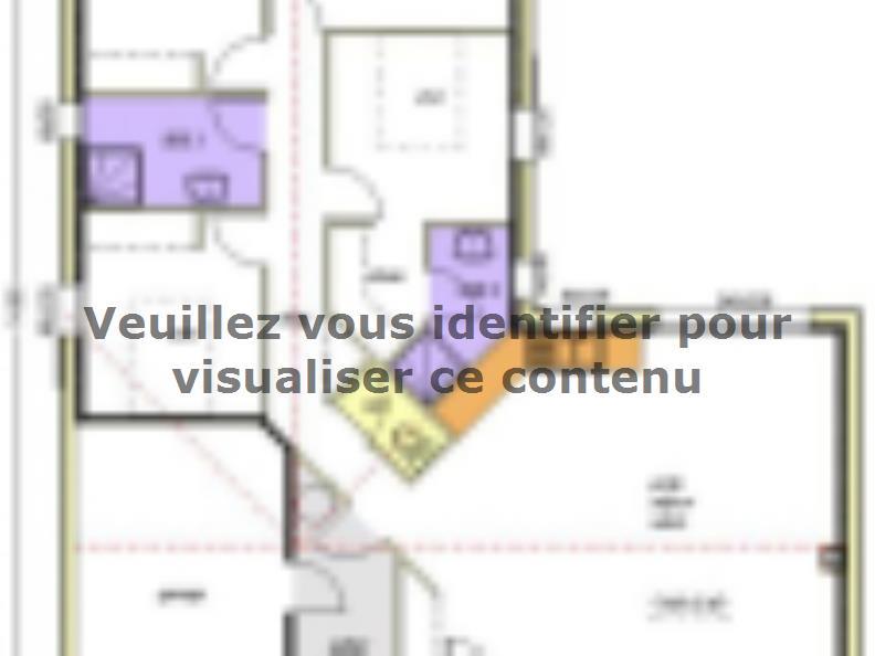 Plan de maison Avant-projet BRESSUIRE - 104 m² - 4 chambres : Vignette 1