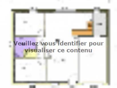 Plan de maison Avant-projet MAREUIL SUR LAY - 65 m² - 2 chambres 2 chambres  : Photo 1