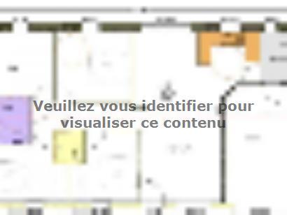 Plan de maison Avant projet NIORT  89 m² - 4 chambres 4 chambres  : Photo 1