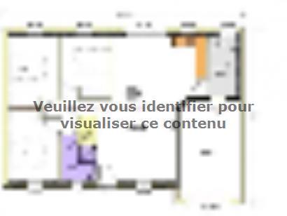 Plan de maison Avant-projet BENET - 79 m² - 3 chambres 3 chambres  : Photo 1
