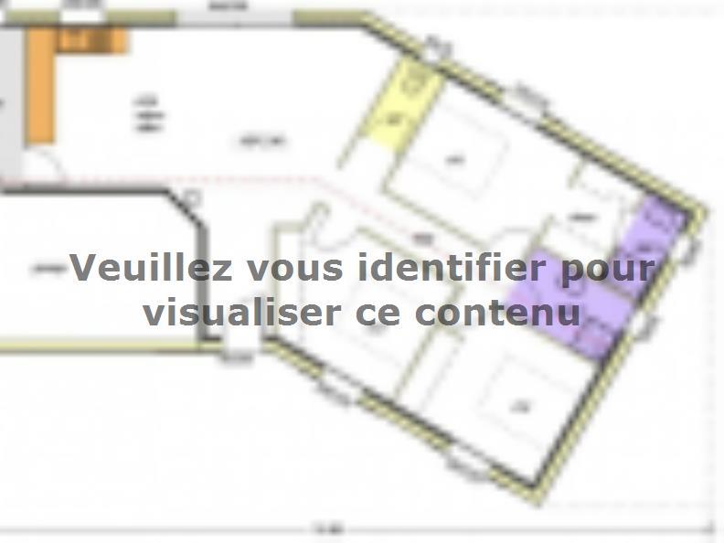 Plan de maison Avant-Projet LES SORINIÈRES - 85 m² - 3 chambres : Vignette 1