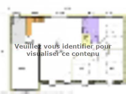 Plan de maison Avant-Projet AIZENAY  81 m² - 3 chambres 3 chambres  : Photo 2