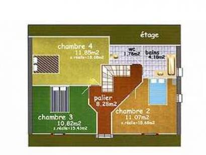 Plan de maison VIGNEMALE  : Photo 1