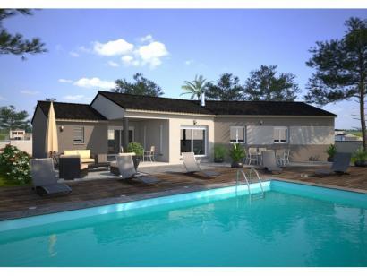 Modèle de maison Emeraude 100 Elégance 3 chambres  : Photo 1