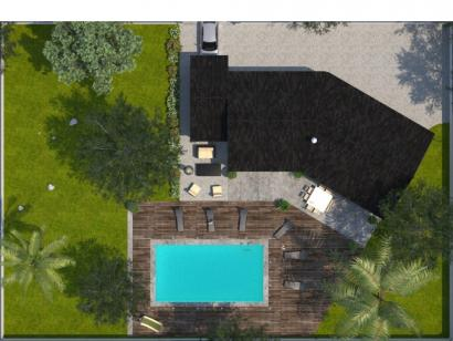 Modèle de maison Emeraude 100 Elégance 3 chambres  : Photo 2