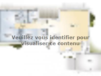Plan de maison La Villa 120 Design 3 chambres  : Photo 1
