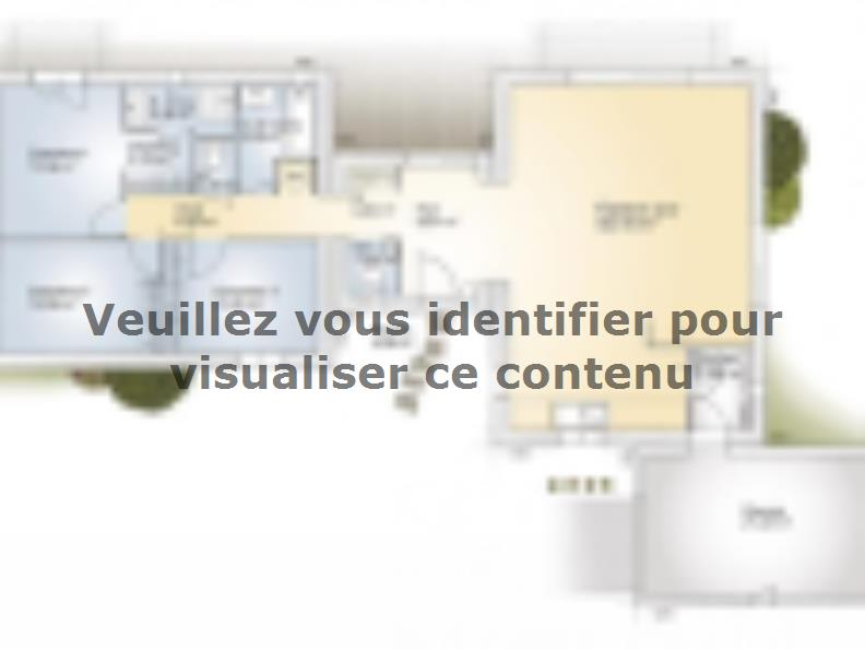 Plan de maison La Villa 120 Design : Vignette 1