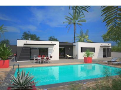 Modèle de maison La Villa 120 Design 3 chambres  : Photo 1