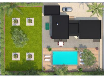 Modèle de maison La Villa 120 Design 3 chambres  : Photo 2
