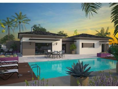 modèle de maison la villa 120 elégance - maisons balency - Modele De Maison En L
