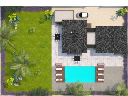 Modèle de maison La Villa 120 Elégance 3 chambres  : Photo 2