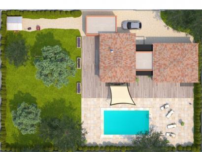 Modèle de maison La Villa 120 Tradition 3 chambres  : Photo 2