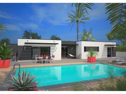 Modèle de maison La Villa 170 Design 4 chambres  : Photo 1