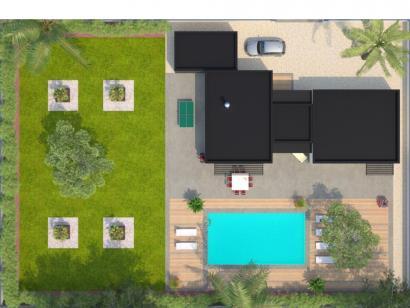 Modèle de maison La Villa 170 Design 4 chambres  : Photo 2