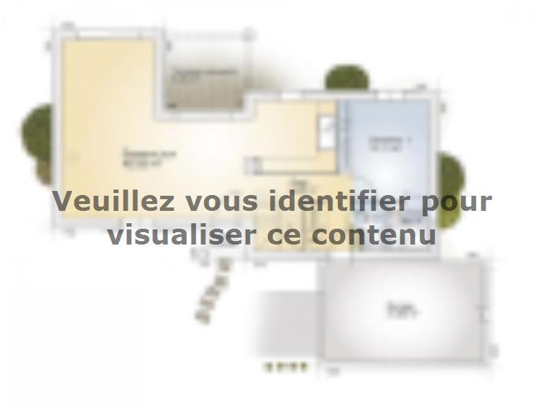 Plan de maison Aigue-Marine 105 Elégance : Vignette 1