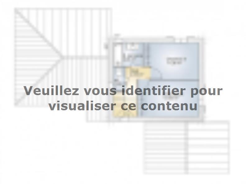 Plan de maison Aigue-Marine 105 Elégance : Vignette 2