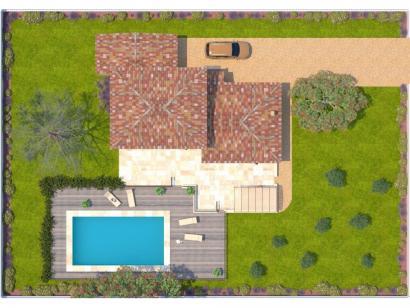 Modèle de maison Aigue-Marine 125 Tradition 4 chambres  : Photo 2