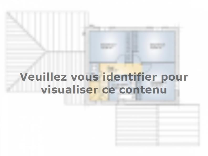 Plan de maison Aigue-Marine 145 Elégance : Vignette 2