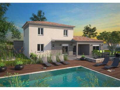 Modèle de maison Aigue-Marine 145 Elégance 5 chambres  : Photo 1