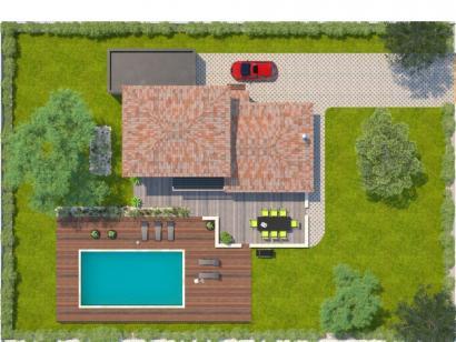 Modèle de maison Aigue-Marine 145 Elégance  : Photo 2