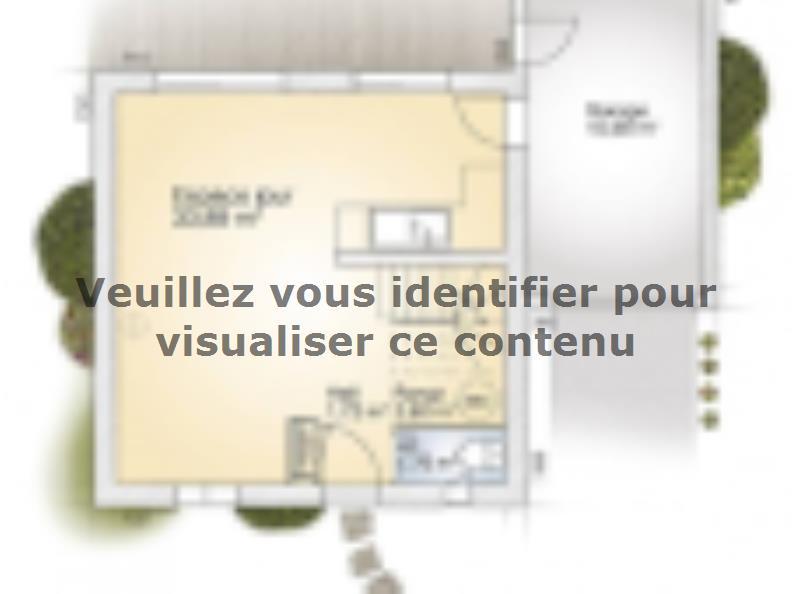 Plan de maison Jade GA 81 Elégance : Vignette 1