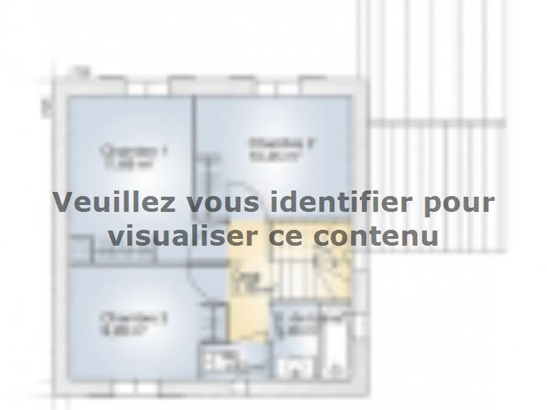 Plan de maison Jade GA 81 Elégance : Vignette 2
