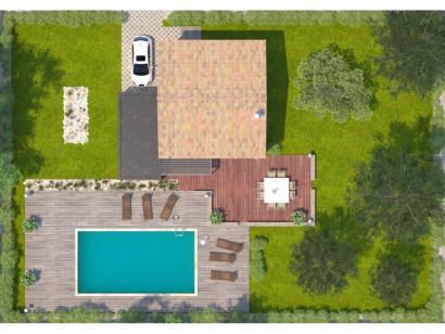 Modèle de maison Jade GA 81 Elégance 3 chambres  : Photo 2