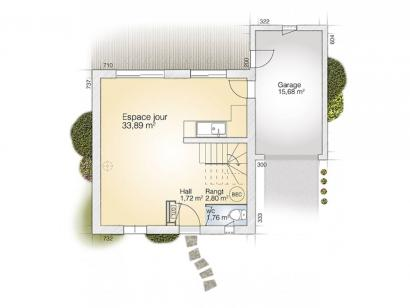 Plan de maison Jade GA 81 Tradition  : Photo 1