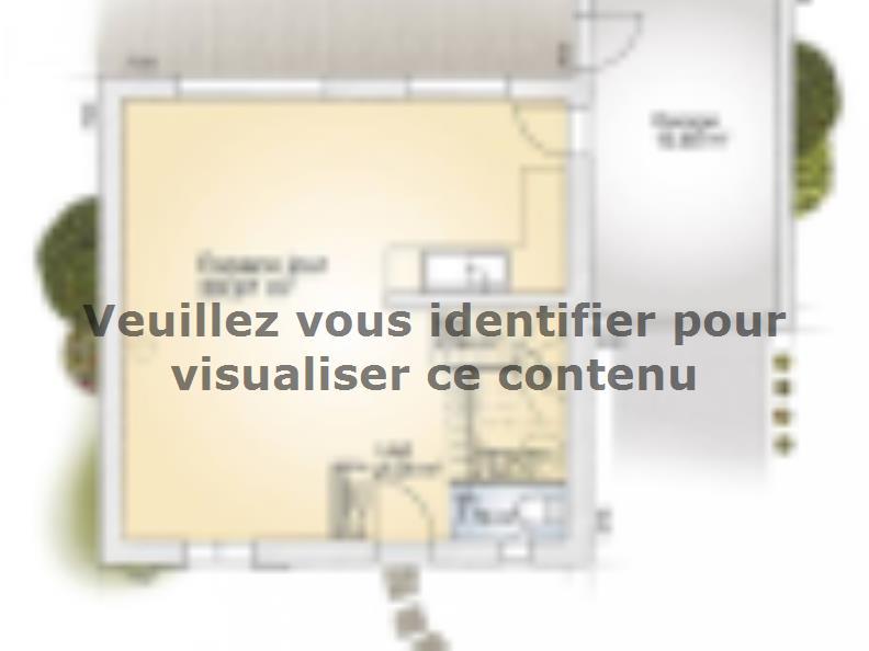 Plan de maison Jade GA 95 Elégance : Vignette 1