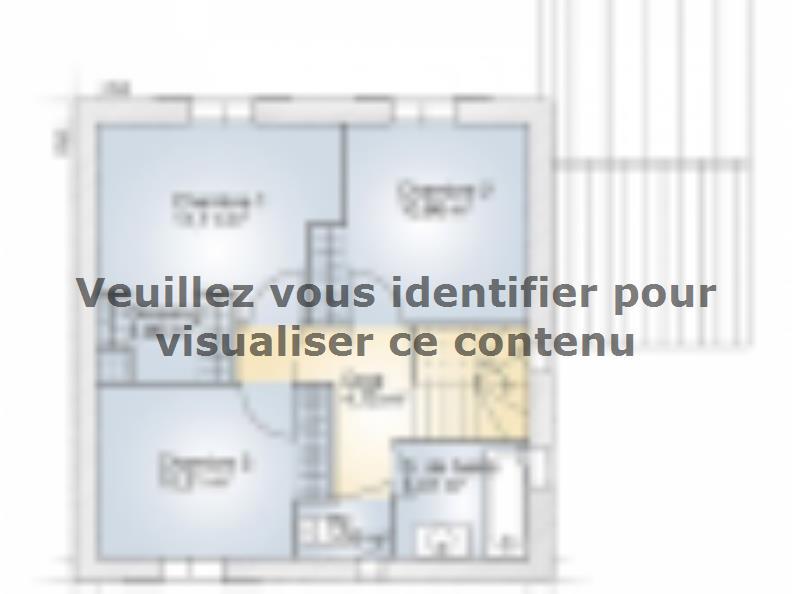 Plan de maison Jade GA 95 Elégance : Vignette 2