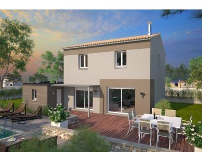 Modèle de maison Jade GA 95 Elégance 3 chambres  : Photo 1