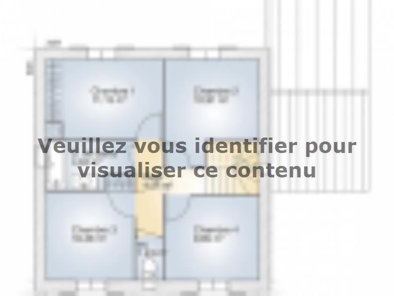 Plan de maison Jade GA 110 Elégance : Vignette 2