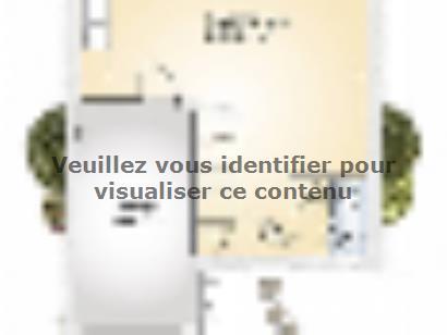Plan de maison Jade G 83 Elégance 3 chambres  : Photo 1
