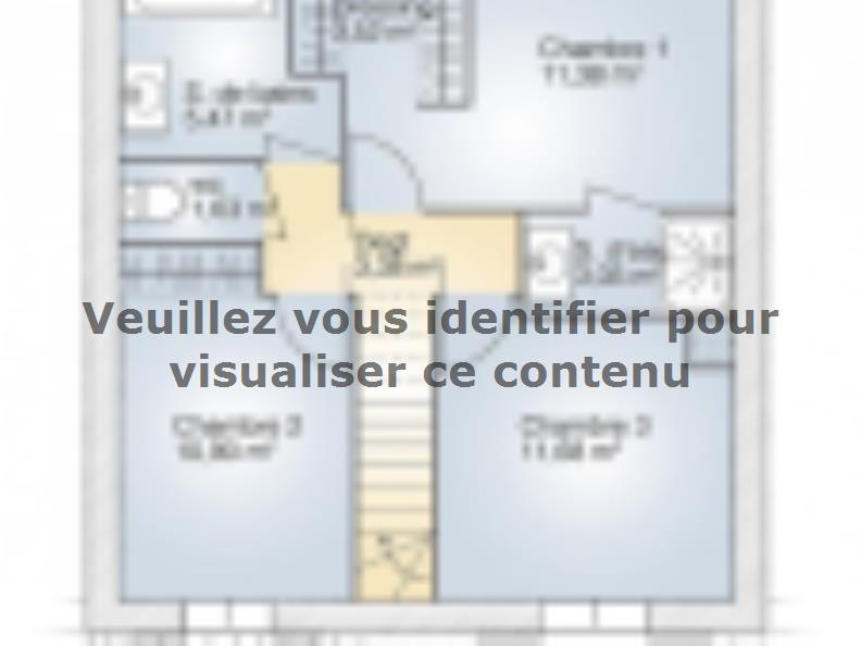 Plan de maison Jade G 95 Tradition : Vignette 2