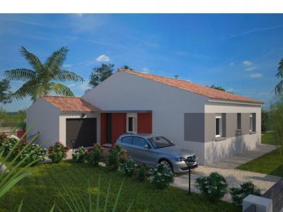 Modèle de maison Opale GA 73 F Elégance 3 chambres  : Photo 1