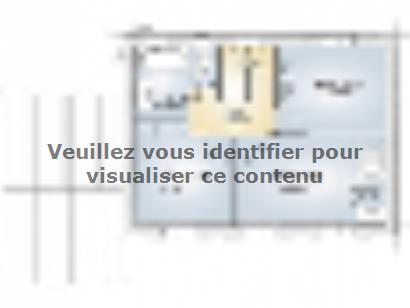 Plan de maison Saphir 95 Elégance 3 chambres  : Photo 2