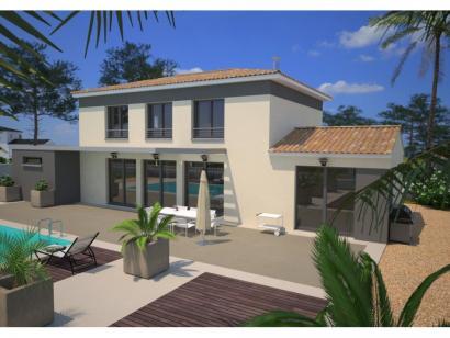 Modèle de maison Saphir 95 Elégance 3 chambres  : Photo 1