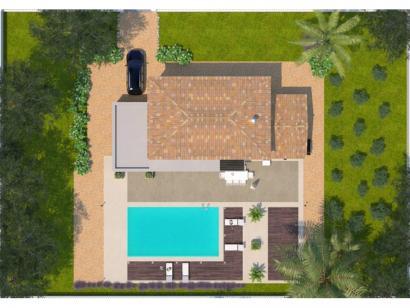 Modèle de maison Saphir 95 Elégance 3 chambres  : Photo 2