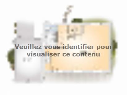 Plan de maison Saphir 110 Elégance 3 chambres  : Photo 1