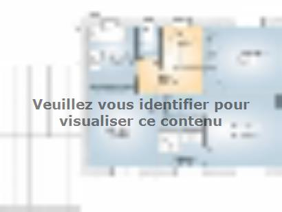 Plan de maison Saphir 110 Elégance 3 chambres  : Photo 2