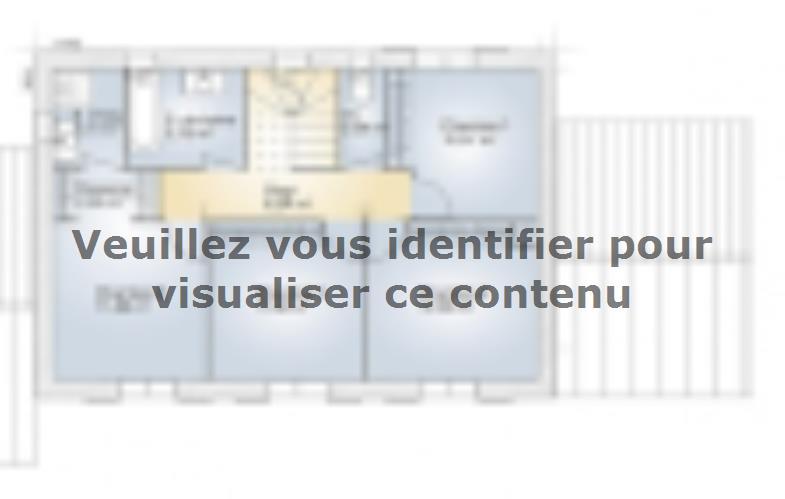 Plan de maison Saphir 140 Elégance : Vignette 2