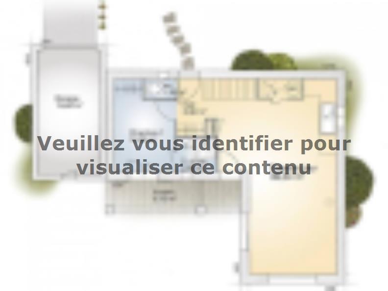 Plan de maison Tourmaline 90 Elégance : Vignette 1