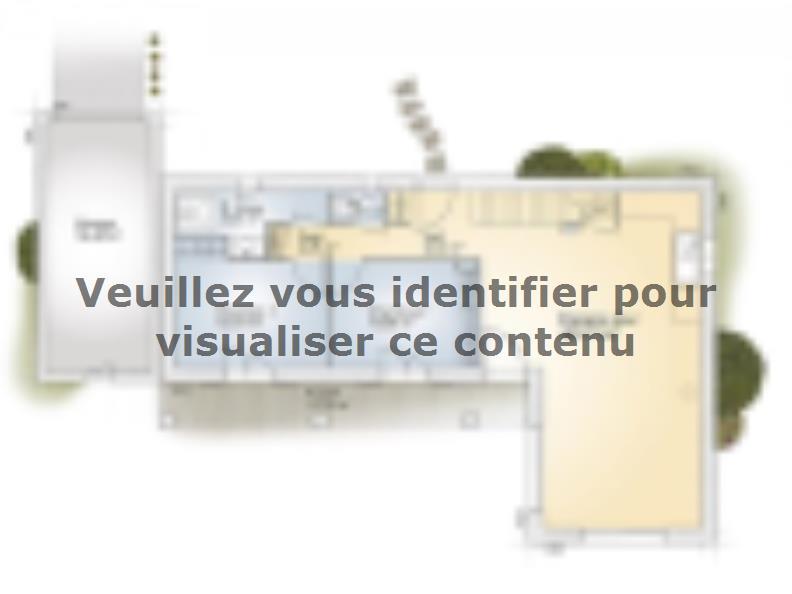 Plan de maison Tourmaline 110 Elégance : Vignette 1