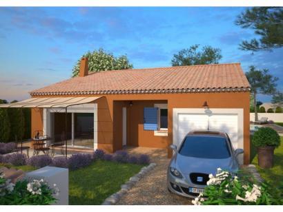 Modèle de maison Opale G 73 P Tradition 3 chambres  : Photo 1