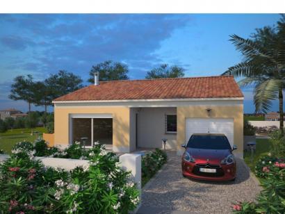 Modèle de maison Opale G 83 P Elégance 3 chambres  : Photo 1
