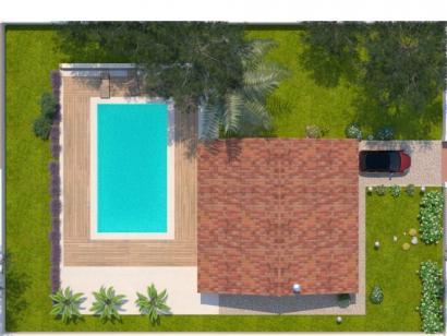 Modèle de maison Opale G 83 P Elégance 3 chambres  : Photo 2