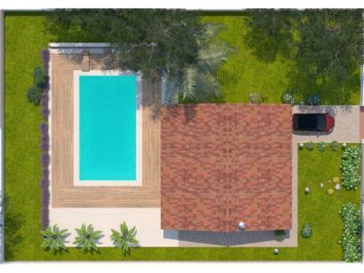 Modèle de maison Opale G 83 F Elégance 3 chambres  : Photo 2